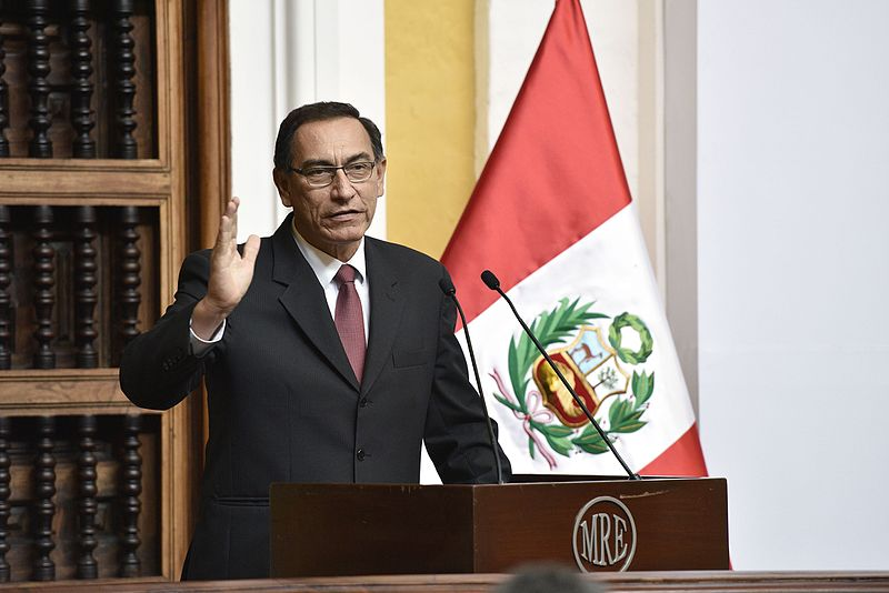 Peruvian President enjoys popularity boost