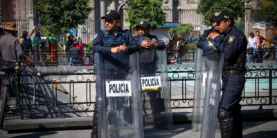 Mexico has the fourth highest impunity rating in the world.