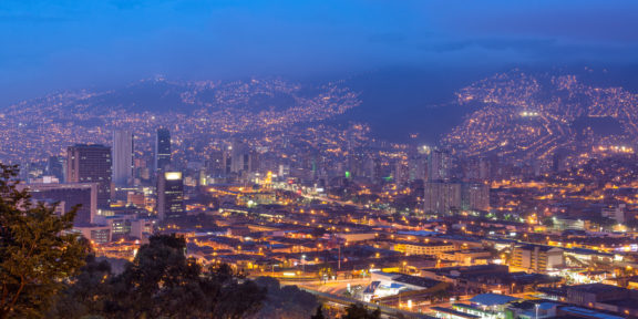 Latin America's only Blockchain centre is located in Medellin, Colombia.