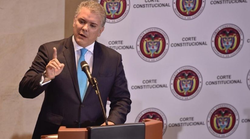 Ivan Duque JEP Amendments