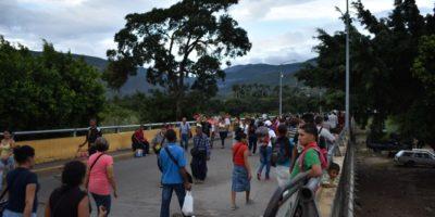 Venezuela Colombia Migration Border