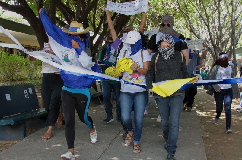Nicaragua Alianza Civica Protests