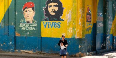 Havana Cuba, Grafitti, Socialism