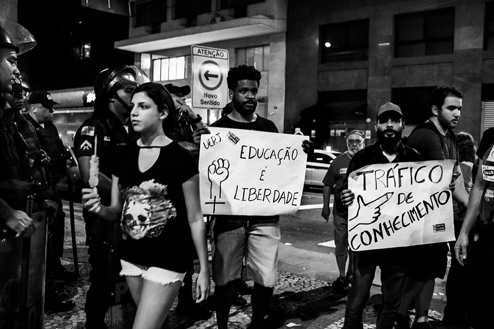 Brazil education reforms protest