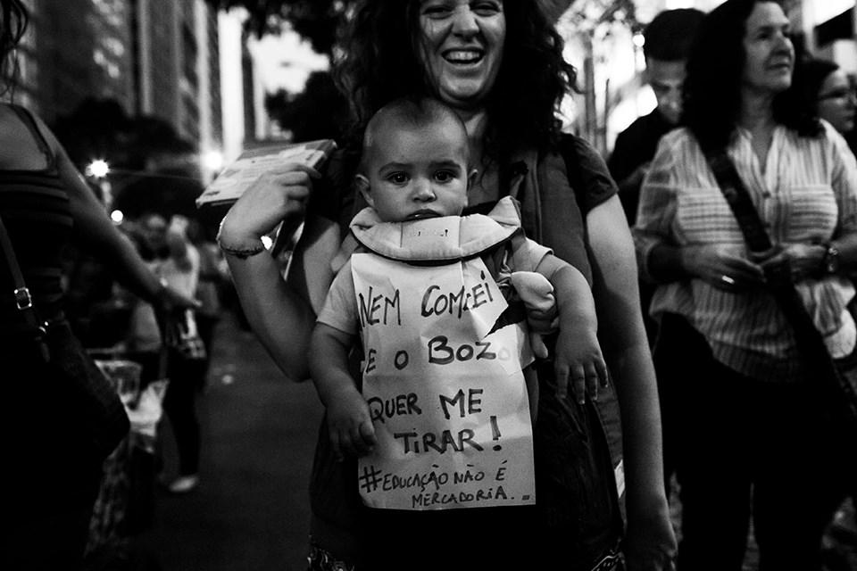 Brazil education reforms protest