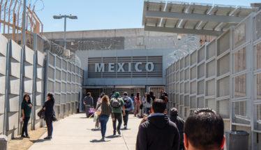 US - Mexico border in California