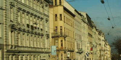 An image of the Venezuelan embassy in Vienna, Austria.
