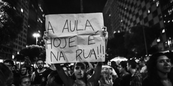 Education cuts protests bolsonaro brazil