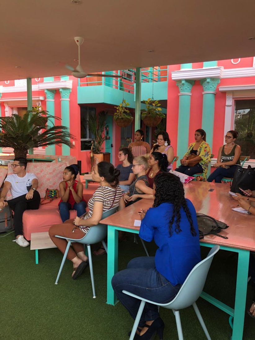 women listening entrepreneurship workship