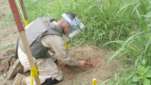 Colombian government denounces planting of anti-personnel landmines to protect coca crops