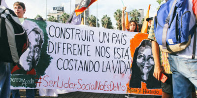 Social leader killings Colombia