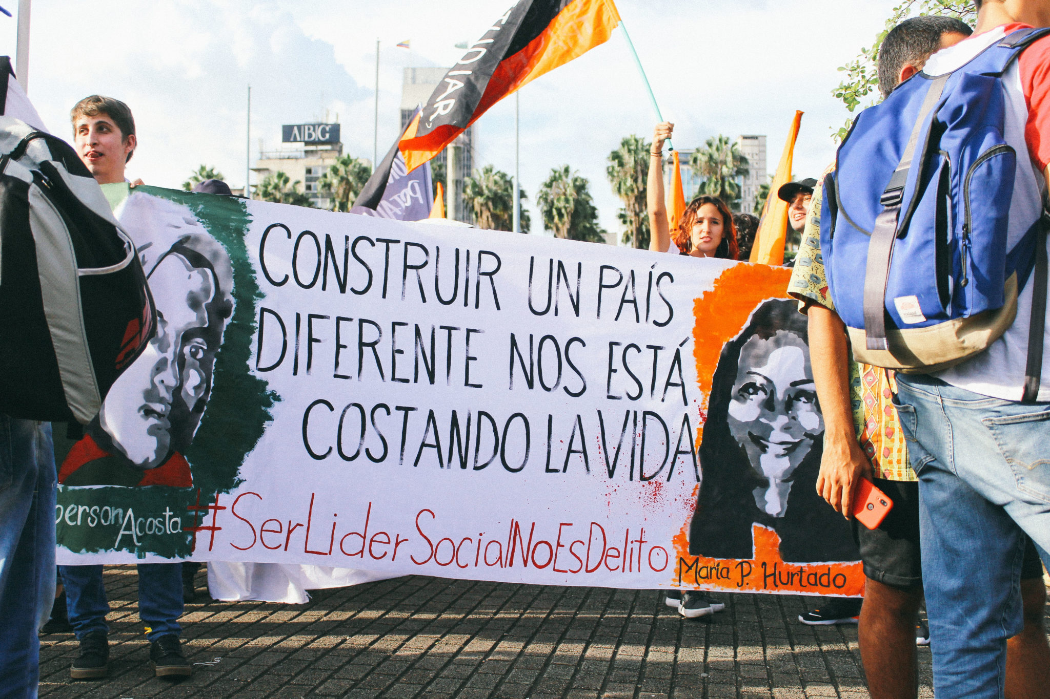In photos: Medellín marches for the lives of social leaders