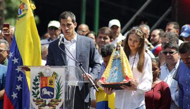 Guaido Protest in Venezuela
