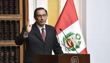Martin Vizcarra President of Peru