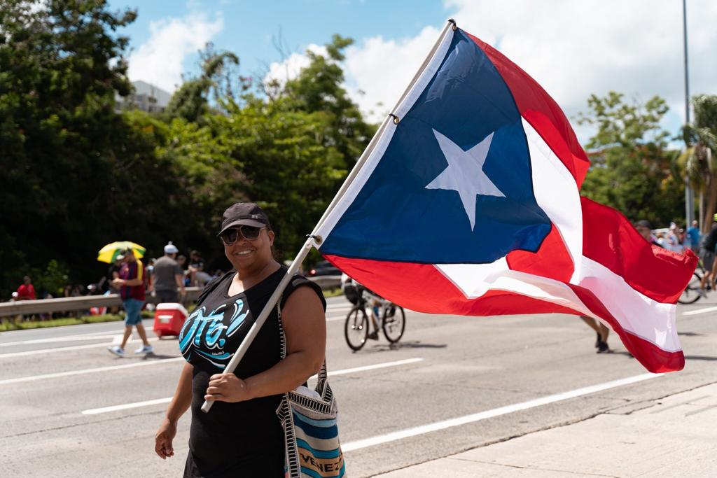 Why are people protesting in Puerto Rico?
