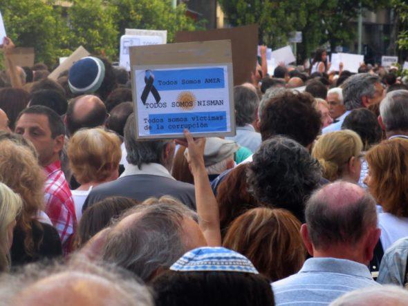 AMIA protest Buenos Aires Argentina