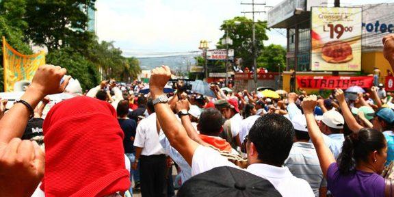 Honduras protest coup 2009