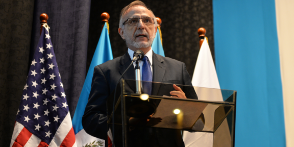 Ivan Velasquez, director of the CICIG in Guatemala