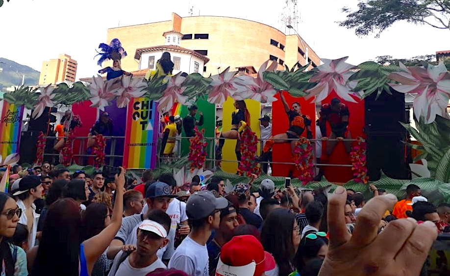 Bar Chiquita Gay Pride Float Medellin