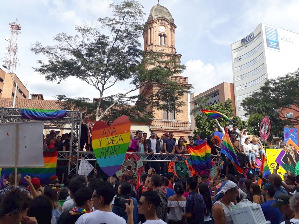 In photos: Medellín's 22nd Pride March