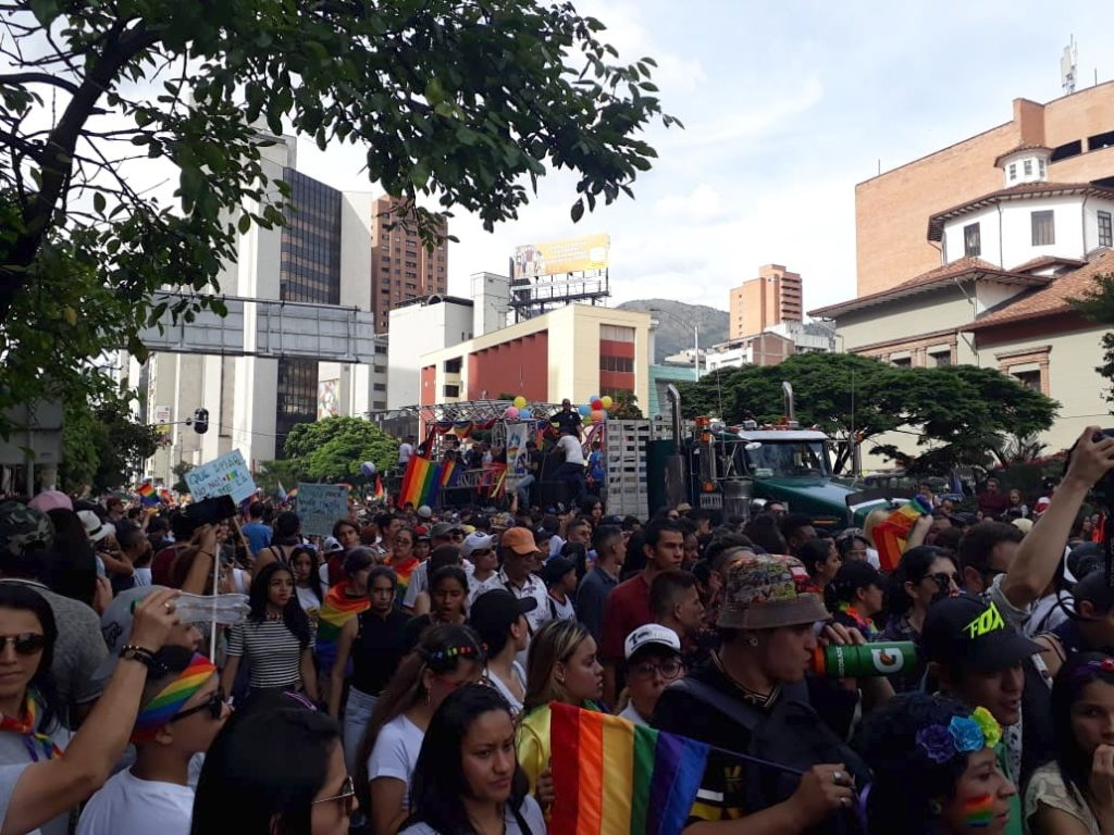 Medellin Gay Pride March
