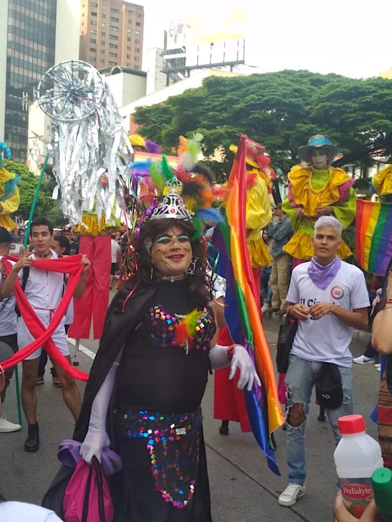 Medellin Gay Pride Drag Queen