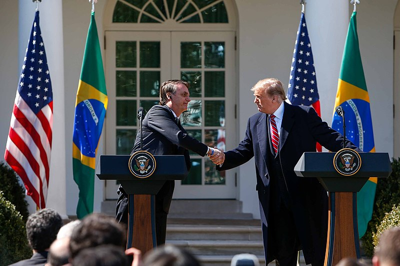Bolsonaro wants to appoint his son as U.S. ambassador, and Trump agrees