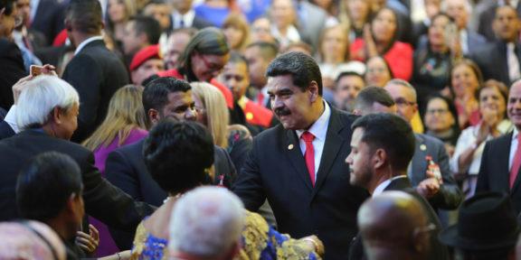 Nicolas Maduro at inauguration 2019