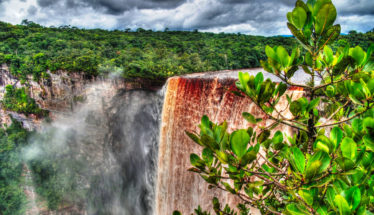Kaieteur waterfall in Esequibo Region, Guyana