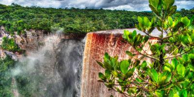 Kaieteur waterfall in Esequibo Region, Guyana