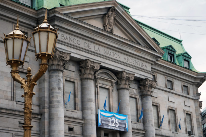 Central Bank of Argentina in Buenos Aires