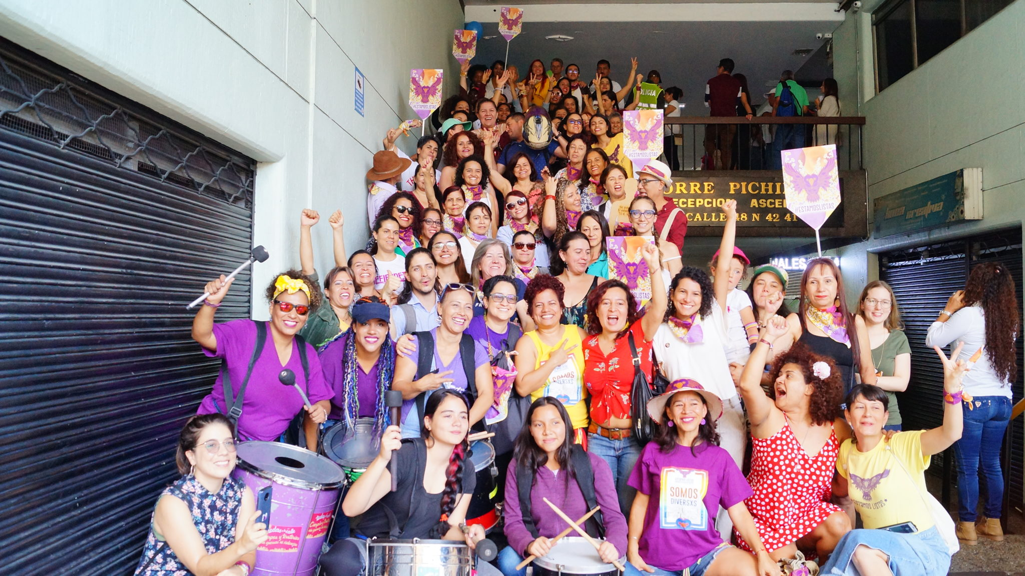 Medellín's women-centered political movement is ready for city council