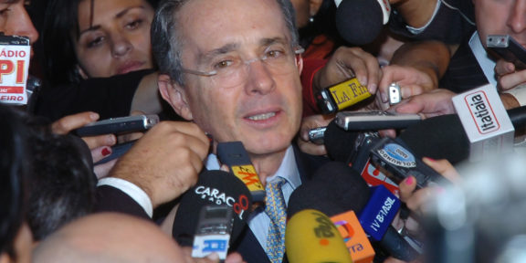 Uribe trial witness manipulation
