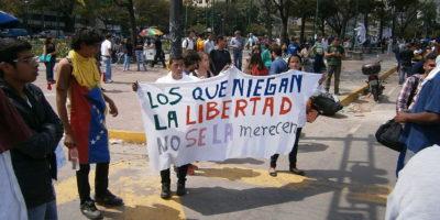 Venezuela protests against the Nicolas Maduro government