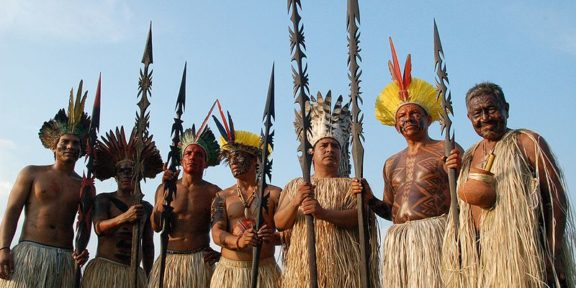 Yaminawá people in Brazil