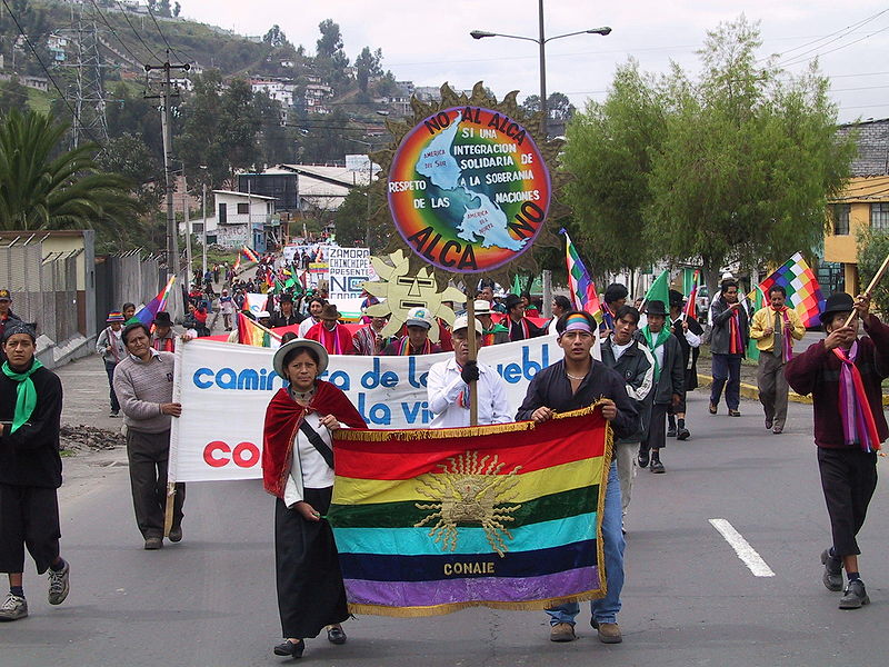 Indigenous groups expected to play a key role in Ecuador's protests