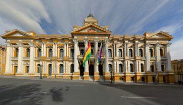 Government building Bolivia