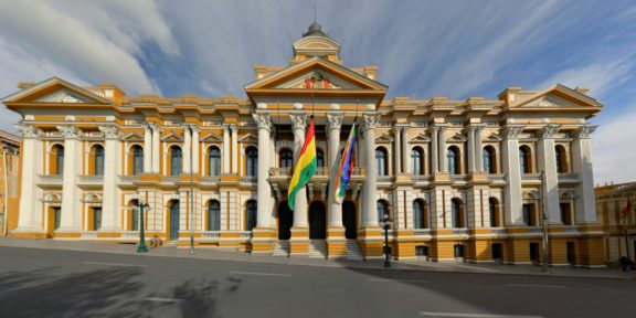 Government building Bolivia