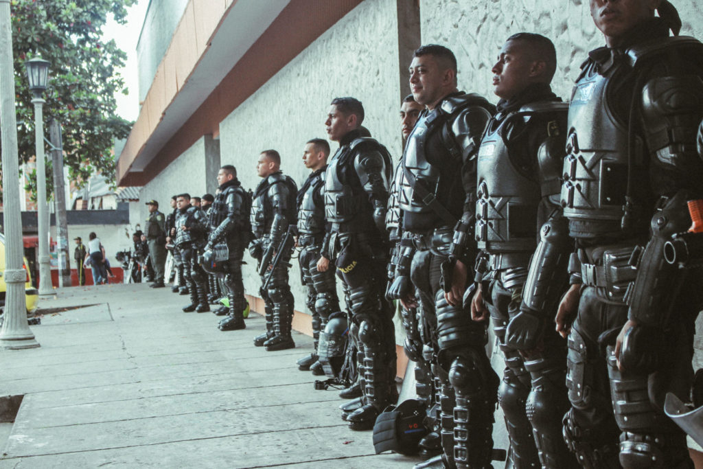 Excessive police violence in protests cause deaths and thousands of injuries
