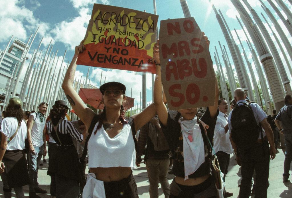 Medellin protests