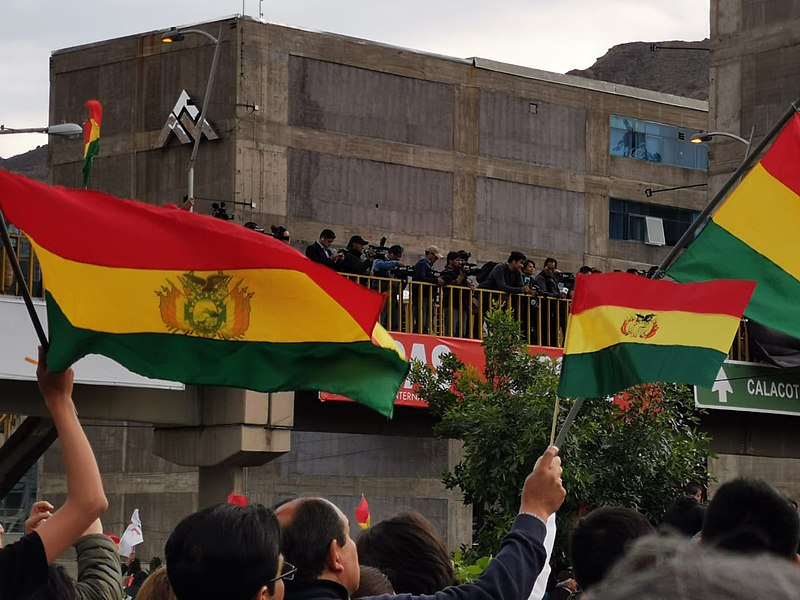 Bolivia's election protests divide the nation