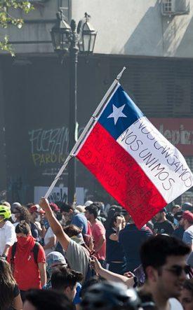 Chilean protesters