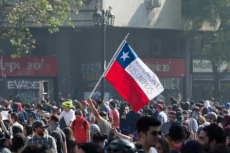 Protesters in Ecuador and Chile resort to violence in order to be heard