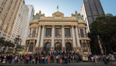Municipal Theater Rio de Janeiro.