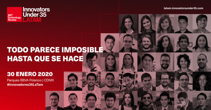 MIT Technology Review reveals 2019 list of Innovators Under 35 LATAM