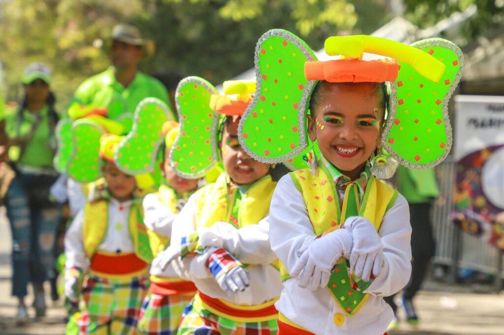 Barranquilla Children's Carnival 2020.